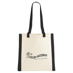 View a larger, more detailed picture of the Color Edge Cotton Convention Tote