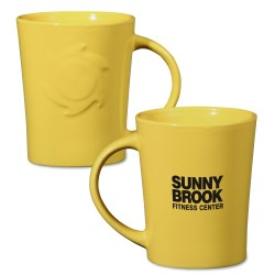 View a larger, more detailed picture of the Sunny Ceramic Mug - 12 oz - 24 hr
