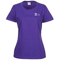 View a larger, more detailed picture of the Fruit of the Loom HD T-Shirt - Ladies - Colors