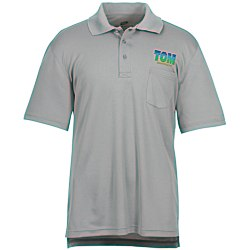 View a larger, more detailed picture of the Cool & Dry Sport Pocket Polo - Men s