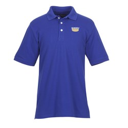 View a larger, more detailed picture of the UltraClub Classic Platinum Polo - Men s