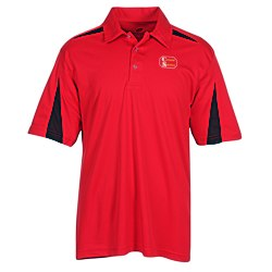 View a larger, more detailed picture of the Cool & Dry Mesh Accent Sport Polo