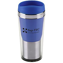 View a larger, more detailed picture of the Clear Up Travel Tumbler - 16 oz