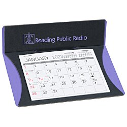 View a larger, more detailed picture of the Cresent Desk Calendar