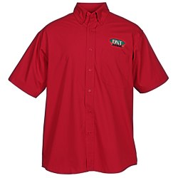 View a larger, more detailed picture of the Superblend Short Sleeve Poplin Shirt - Men s