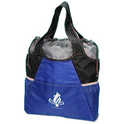 View a larger, more detailed picture of the Drawstring Cooler Tote