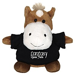 View a larger, more detailed picture of the Bean Bag Buddy - Horse