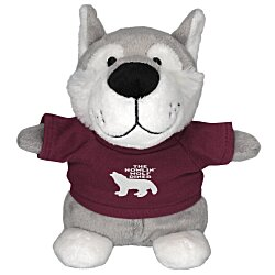 View a larger, more detailed picture of the Bean Bag Buddy - Wolf