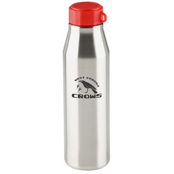 View a larger, more detailed picture of the Jetstream Stainless Sport Bottle - 26 oz - Closeout