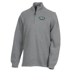 View a larger, more detailed picture of the Portland 1 4 Zip Flat Back Pullover