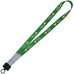 View a larger, more detailed picture of the Dye-Sublimated Lanyard - 3 4 - Accent