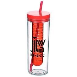 View a larger, more detailed picture of the Thirstinator Sipper with Infuser - 20 oz
