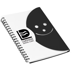 View a larger, more detailed picture of the Smiley Journal - Closeout