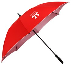 View a larger, more detailed picture of the Colortone Double Sided Golf Umbrella - 62 Arc-Closeout