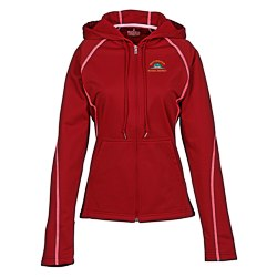 View a larger, more detailed picture of the Tonle Full Zip Performance Hoodie - Ladies - 24hr