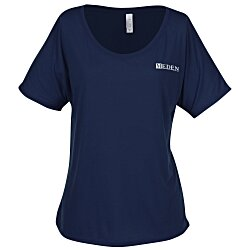 View a larger, more detailed picture of the Bella Flowy Simple T-Shirt