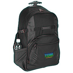 View a larger, more detailed picture of the Kenwood Wheeled Laptop Backpack - Embroidered
