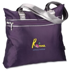 View a larger, more detailed picture of the Capri Fashion Tote - Embroidered