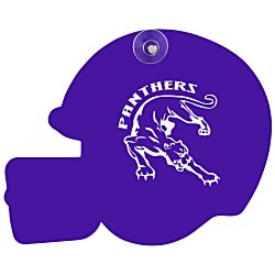 View a larger, more detailed picture of the Window Sign - Football Helmet - Plastic - Color