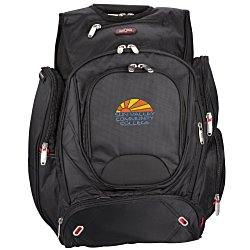 View a larger, more detailed picture of the elleven Checkpoint-Friendly Laptop Backpack - Emb