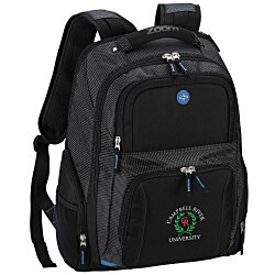 View a larger, more detailed picture of the Zoom Checkpoint-Friendly Laptop Backpack - Emb