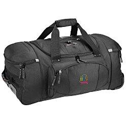 View a larger, more detailed picture of the High Sierra 26 Wheeled Duffel Bag - Embroidered