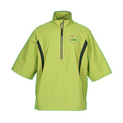 View a larger, more detailed picture of the Banos Short Sleeve Half Zip Jacket - Men s