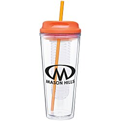 View a larger, more detailed picture of the Spirit Infuser Travel Tumbler - 20 oz