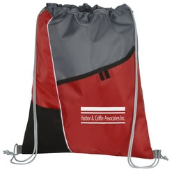 View a larger, more detailed picture of the Two Pocket Drawstring Sportpack