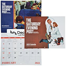 View a larger, more detailed picture of the Saturday Evening Post Norman Rockwell Calendar - Window