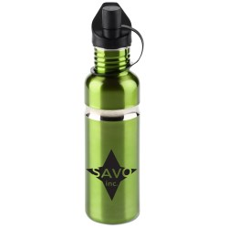 View a larger, more detailed picture of the Krome Stainless Bottle - 28 oz - Closeout