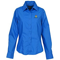 View a larger, more detailed picture of the Preston EZ Care Dress Shirt - Ladies - 24 hr