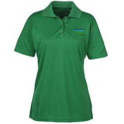 View a larger, more detailed picture of the Cool & Dry Button Placket Sport Polo - Ladies