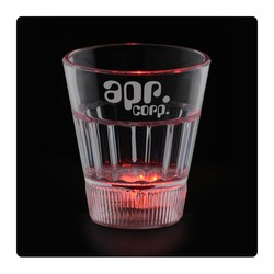 View a larger, more detailed picture of the Fluted Light Up Shot Glass - 2 oz