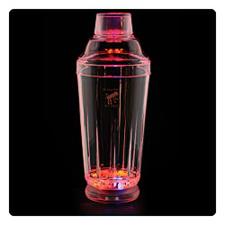View a larger, more detailed picture of the Light Up Cocktail Shaker - 15 oz