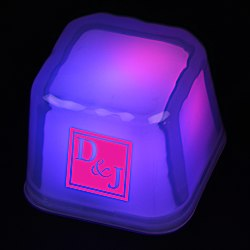 View a larger, more detailed picture of the Light Up Ice Cube - Multicolor