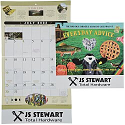 View a larger, more detailed picture of the Old Farmer s Almanac Home Hints - Stapled