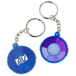 View a larger, more detailed picture of the UV Indicator Key Tag