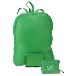 View a larger, more detailed picture of the Fold-N-Go Backpack - Closeout