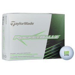 View a larger, more detailed picture of the Taylormade Rocketballz Golf Ball - Dozen - Quick Ship