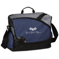 View a larger, more detailed picture of the Freestyle Laptop Messenger Bag II - Closeout