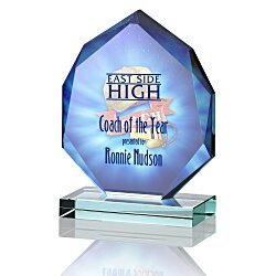 View a larger, more detailed picture of the Eclipse Jade Glass Award - 5 - Full Color