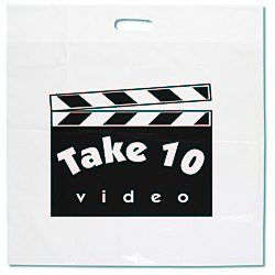 View a larger, more detailed picture of the Oxo-Biodegradable Take Home Bag - 20 x 20 - White