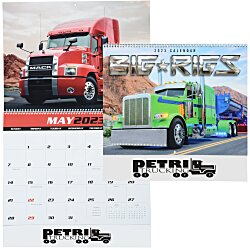 View a larger, more detailed picture of the Big Rigs Calendar