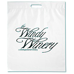 View a larger, more detailed picture of the Take Home Bag - 18 x 15 - White