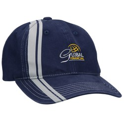 View a larger, more detailed picture of the Double Stripe Cap
