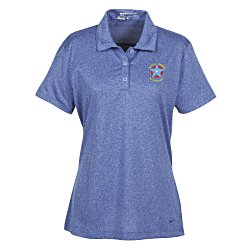 View a larger, more detailed picture of the Nike Performance Dri-Fit Heather Polo - Ladies