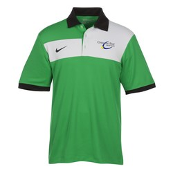 View a larger, more detailed picture of the Nike Performance Dri-Fit Sport Colorblock Polo - Men s