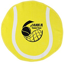 View a larger, more detailed picture of the Sport Ball Towel - Tennis
