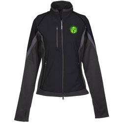 View a larger, more detailed picture of the Jozani Hybrid Soft Shell Jacket - Ladies - TE Transfer